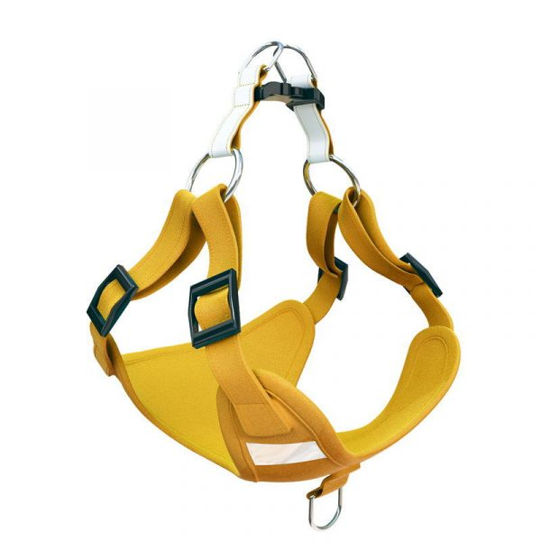 Glowing pet chest harness